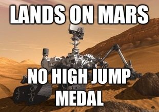 Bad Luck Curiosity Rover