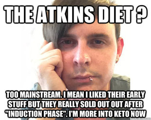 First World Keto Problems