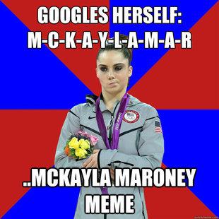 Unimpressed McKayla Maroney