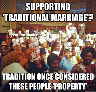 Not all traditions are good