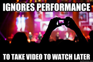 Scumbag Concert Goer