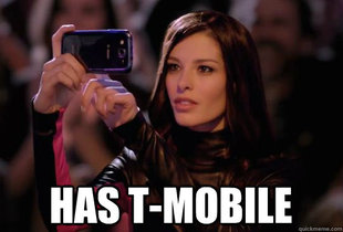 Dumbass T-Mobile Girl