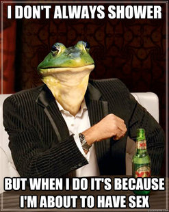 The Most Interesting Foul Bachelor Frog In The World