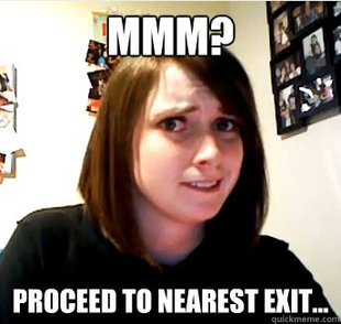 overly attached question
