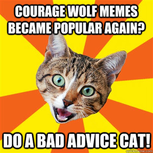 Bad Advice Cat