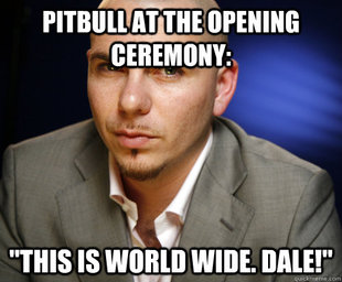 Pitbull at the Olympics