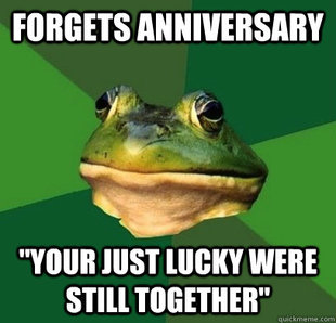 Foul Frog In A Relationship