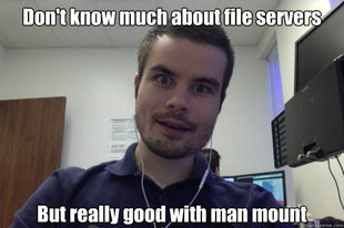 Overly attached programmer