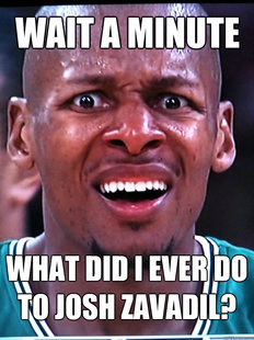 Baffled Ray Allen