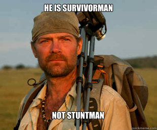 Good Guy Les Stroud