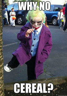 Joker kid