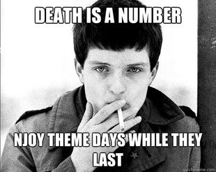 Ian Curtis Doesnt Care