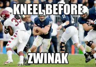 Kneel Before Penn State RBs