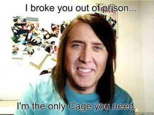 Overly Attached Nicholas Cage