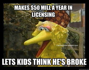 Scumbag Big Bird