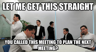 busy meeting