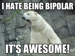 Pissed Off Polar Bear