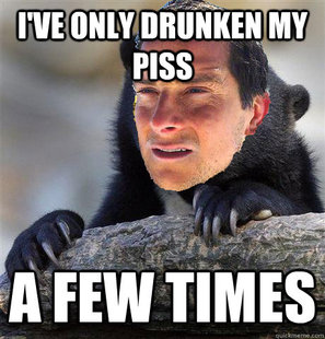 Confession Bear Grylls