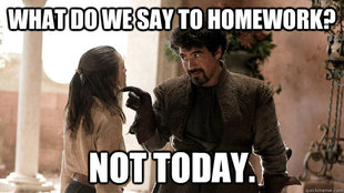 Syrio Forel what do we say