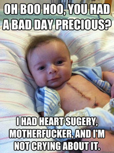 Ridiculously Goodlooking Surgery Baby