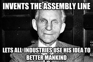 Good guy Henry Ford
