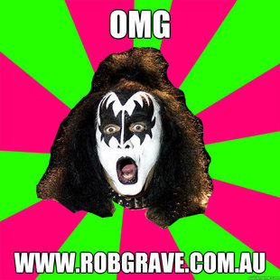 Shocked Gene Simmons