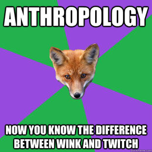 Anthropology Major Fox