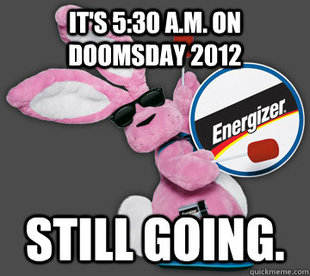 Doomsday Energizer Bunny
