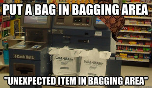 Scumbag Self Checkout