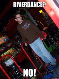 Confused DDR Kid