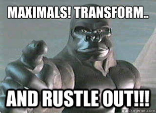 Optimus Primal Jimmie Rustle