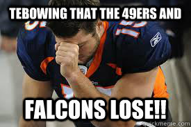 Tebowing Tebow