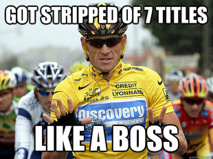 Good Guy Lance Armstrong