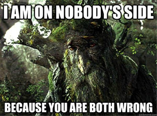 Depressed Treebeard