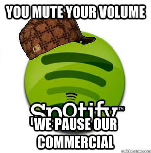 Scumbag Spotify