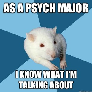Psychology Major Rat