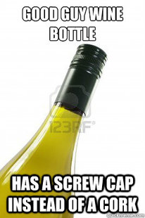 Good Guy Wine Bottle