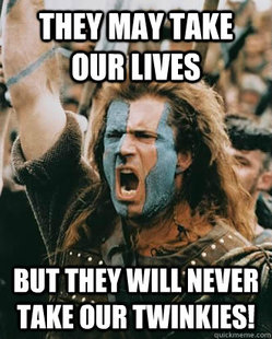 Braveheart stuff