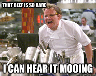 Ramsay Gordon Yelling