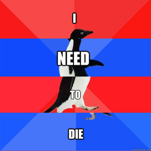Socially Awesome Awkward Awesome Awkward Penguin