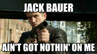 Mr. Reese own Jack Bauer