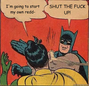 Batman Slapping Robin