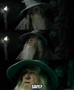 Confused Gandalf