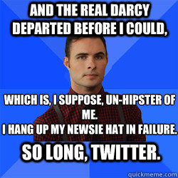 Socially Awkward Darcy