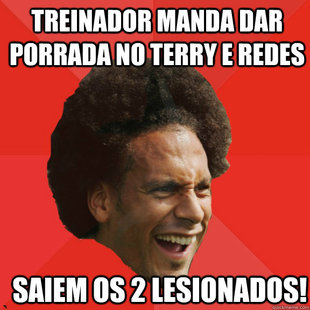 Frustrated FIFA Ferdinand