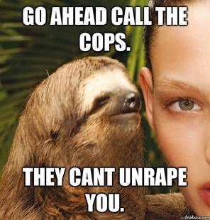 Rape sloth memes - photo#5