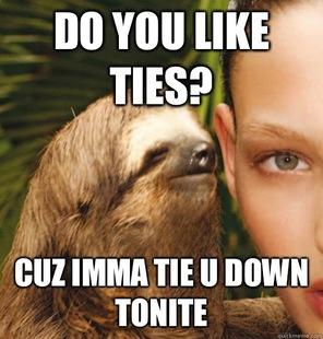whispering sloth meme - 28 images - creepy sloth whisper ...