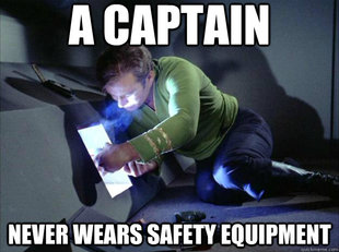 Captain Kirk Tech Support