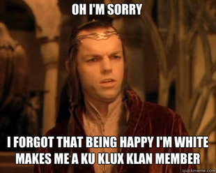 Astounded Elrond