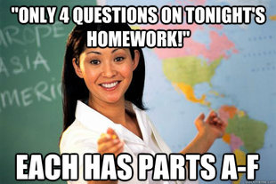 Unhelpful High School Teacher